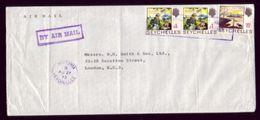 SEYCHELLES 1970 BI CENTENARY COVER - Seychelles (...-1976)