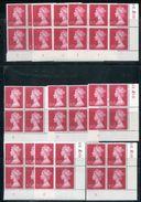 GB 1970 MACHIN 10p CYLINDER BLOCKS - 1952-.... (Elizabeth II)