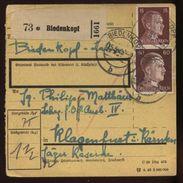 GERMANY 15 Pfg POSTAL RECEIPT - Germany