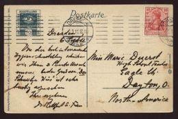 GERMANY 1911 EXHIBITION PC HYGIENE/SWISS PAVILLION - Germany