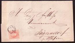 AUSTRIA/LIECHTENSTEIN 1869 ENTIRE - Austria