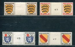 GERMANY BADEN FRENCH ZONE GUTTER PAIRS - Germany