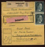 GERMANY 50 Pfg POSTAL RECEIPT - Germany