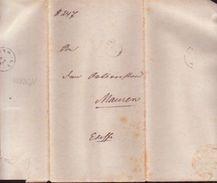 LIECHTENSTEIN/AUSTRIA FORERUNNER - VADUZ TO MAUREN 1877 - Liechtenstein