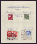 GERMANY - TRAVELLING POST OFFICE CANCELLATIONS - Germany