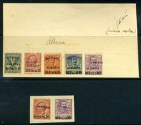 ALBANIA/ITALIAN PO GENERAL ISSUES 1902 - Italy