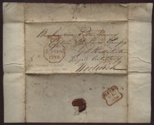 """IRELAND 1836 SOLDIER'S LETTER """"MAYNOOTH"""" - WOOLWICH - Unclassified"""
