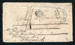 GB LONDON POSTAL INSTRUCTIONAL U.S.A MARITIME IRELAND BELTVRRET 1859 - Postmark Collection
