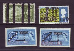 GB GEORGE VI ELIZABETH 2nd TRAINING SCHOOL SHIPS LANDSCAPES OVERPRINTS CANCELLED - 1902-1951 (Kings)