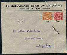 KENYA EAST AFRICA MOBASA PAQUEBOT SHIPPING HOLLAND - Kenya, Uganda & Tanganyika