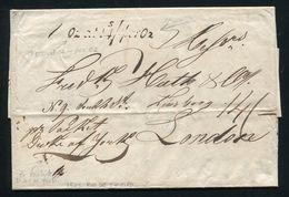 BRAZIL GB RIO DE JANEIRO BRITISH PACKET DUKE OF YORK SHIPPING MARITIME 1828 - Brazil