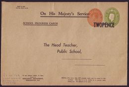 NEW ZEALAND GEORGE VI 'SCHOOL PROGRESS CARDS' COVER - Unclassified