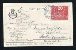 SWEDEN UPU CONGRESS SIGNATURES CHINA DELEGATE 1924 - Sweden