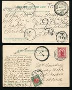 NEW ZEALAND POSTAGE DUE RAILWAY NEW PLYMUTH GISBORNE 1906 - Unclassified