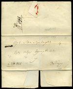 SERBIA BELGRADE COVER 1849 - Serbia