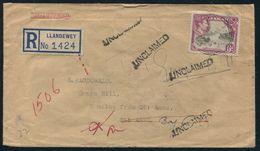 JAMAICA GEORGE SIXTH REGISTERED VILLAGE POSTMARKS 1951 - Jamaica (...-1961)