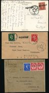 GREAT BRITAIN USED ABROAD ORAN ALGERIA PAQUEBOT MARITIME SUEZ - Postmark Collection