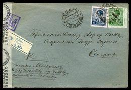 YUGOSLAVIA WW CENSOR COVER 1942 LEBANE - Unclassified