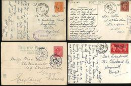 GREAT BRITAIN USED ABROAD ALGERIA PAQUEBOT 1899/1953 - 1840-1901 (Victoria)