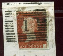 GB 1843 1d RE-ENTRY - 1840-1901 (Victoria)