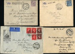 GREAT BRITAIN USED ABROAD EGYPT SHIPPING PAQUEBOT 1898-1938 - Postmark Collection