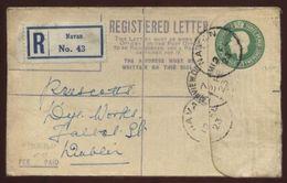 IRELAND 1923 REGISTERED EMERALD COVER NAVAN - DUBLIN - Unclassified