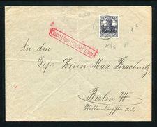 GERMANY POLAND WORLD WAR ONE CENSOR POZNAN - Germany