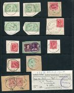 GREAT BRITAIN SKELETON POSTMARKS 1902 TO 1970 - Great Britain