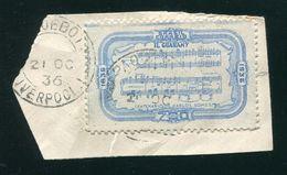 BRAZIL MUSIC CARLOS GOMES OPERA 1936 MARITIME LIVERPOOL GREAT BRITAIN - Brazil