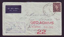 AUSTRALIA/WWII/PAPUA/TASMANIA - Postmark Collection
