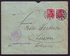 DANZIG 1915 GERMANY ARMY CENSORED COVER WWI - Germany