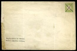 GERMANY GANZSACHEN REICH OFFICIAL ENVELOPE - Germany