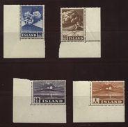 ICELAND 1947 HEKLA SET MNH 50a-10KR - Iceland