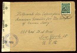 GERMANY WW2 AMERICAN COMMITTEE FOR GERMAN NEEDY COVER - Germany