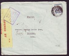 PALESTINE CENSOR MAIL WWII 1940 - Palestine