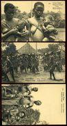 BELGIAN CONGO NATIVE WOMEN BEAUTIES STATIONERY 1922 - Congo - Brazzaville