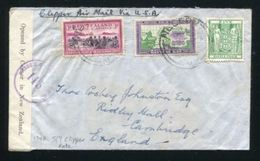 NEW ZEALAND AIRMAIL WORLD WAR TWO 1940 CLIPPER CENSOR - Unclassified