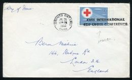 CANADA 1952 RED CROSS CONFERENCE TORONTO - Commemorative Covers