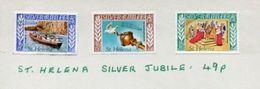 ST HELENA SPECIMENS SILVER JUBILEE 1977 - Saint Helena Island
