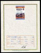 TUVALU RAILWAYS U.K. PROGRESSIVE PROOF 1985 - Tuvalu