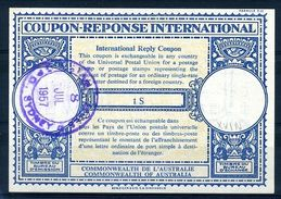 AUSTRALIA 1957 INTERNATIONAL REPLY COUPON - Australia
