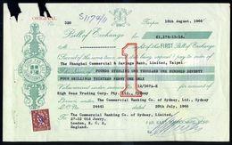 AUSTRALIA GB CHINA TAIWAN BILL BAMBOO - Unclassified