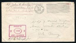 U.S. RED CROSS US ARMY WW2 ITALY - Postal History
