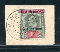 NEW HEBRIDES KING EDWARD 7TH RARE 1/- STAMP - Unclassified