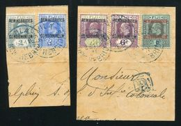 NEW HEBRIDES KING EDWARD 7TH FINE USED 1911 - New Hebrides