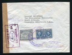 PANAMA COLON WW2 U.S. CENSOR - Panama