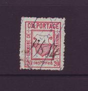 SWITZERLAND LAUSANNE NUMBER 1 1878 COMMUNE COLPORTAGE STAMP - Switzerland