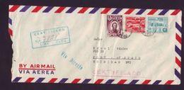 PERU AIRMAIL TO TRINIDAD AND OCTOBER FERIA FAIR LIMA 1949 - Peru