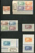 FRENCH HEBRIDES GOLD CURRENCY STAMPS 1938 SUPERB USED - Europe (Other)