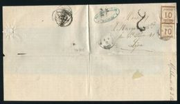 FRANCE GERMANY ALSACE 1871 MULHAUSEN / MULHOUSE - Europe (Other)